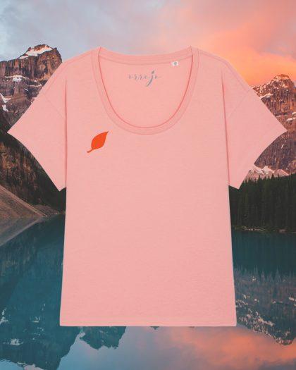 i had this dream organic cotton tshirt woman orrojo pink