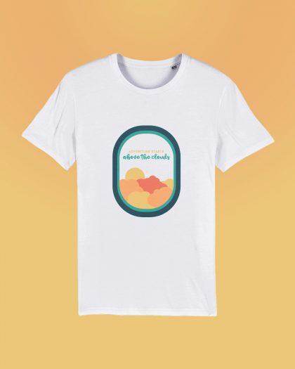 Adventure Starts 100% Organic T-shirt Orrojo White