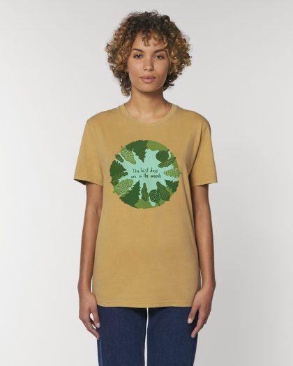 the best days premium organic cotton vintage tshirt woman orrojo ocre