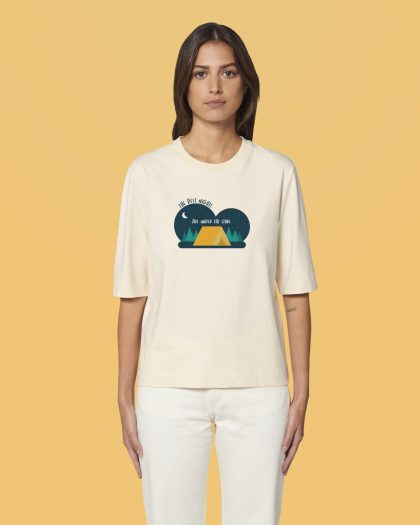 the best nights organic cotton tshirt woman orrojo white