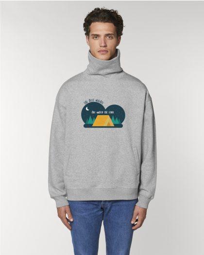 the best nights organic cotton hoodie man orrojo