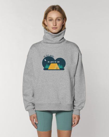 the best nights organic cotton hoodie woman orrojo