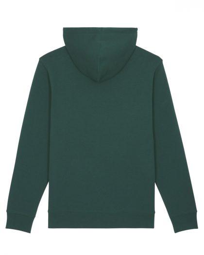 the best days organic cotton vintage hoodie orrojo green