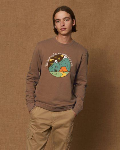 the best nights organic cotton sweatshirt man orrojo