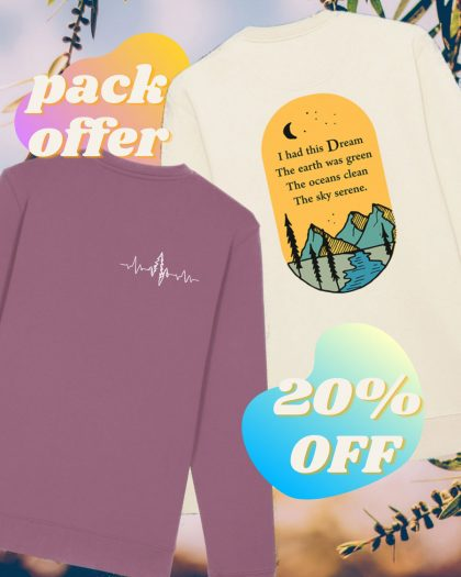 2pack unisex offer sweatshirts organic cotton